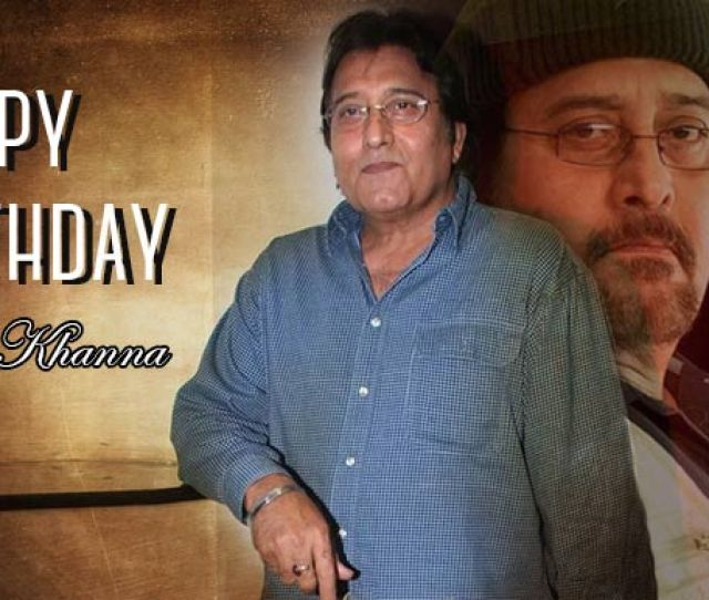 Vinod Khanna Belongs To The Legions Of Actors In Bollywood With Immense Acting Skills The Actor Turned Politician Born On 6th October 1946