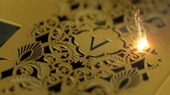 It Was An Extravagant 14 Carat Gold Plated Wedding Invitation Made By Adorn Exclusively For Vanessa Williams We Share A Video Of How The Intricately