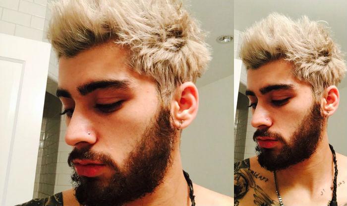 Zayn Malik Dyes Hair Blonde