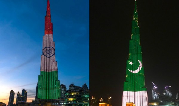 Burj Khalifa lights up with Pakistan flag for 77th ...