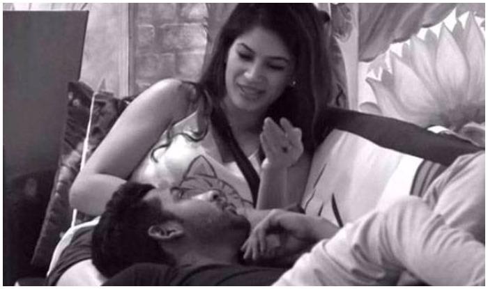 Bigg Boss 11 Puneesh Sharma And Bandgi Kalra Get Intimate