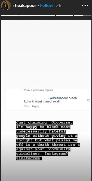 Rhea Kapoor Receives Death Threats on Social Media And This is What Instagram Has to Say 2