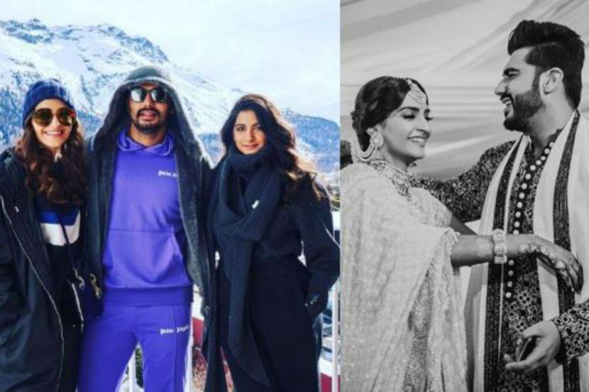 Arjun Kapoor Turns 35: Sonam Kapoor, Rhea Kapoor Wish Actor a Happy Birthday in Adorable Posts 1