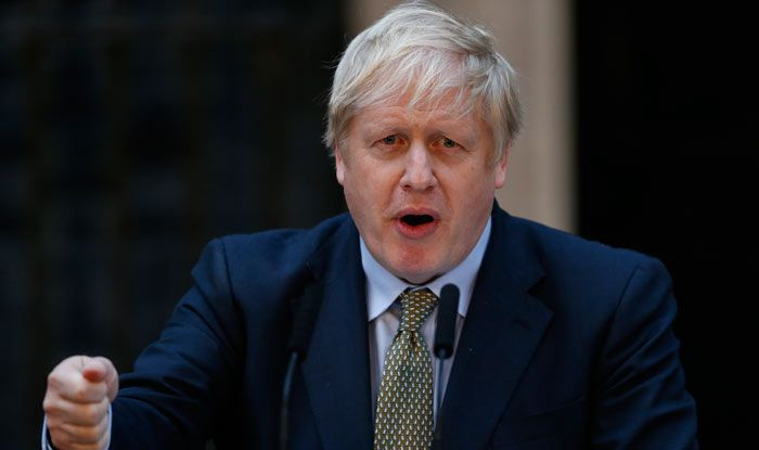 UK PM Boris Johnson Self-isolates After Coming in Contact with COVID-positive MP