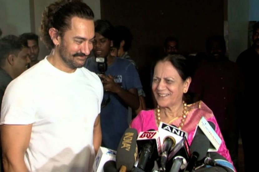 Aamir Khan Confirms Mother Tests COVID-19 Negative, Thanks Fans For Prayers 1