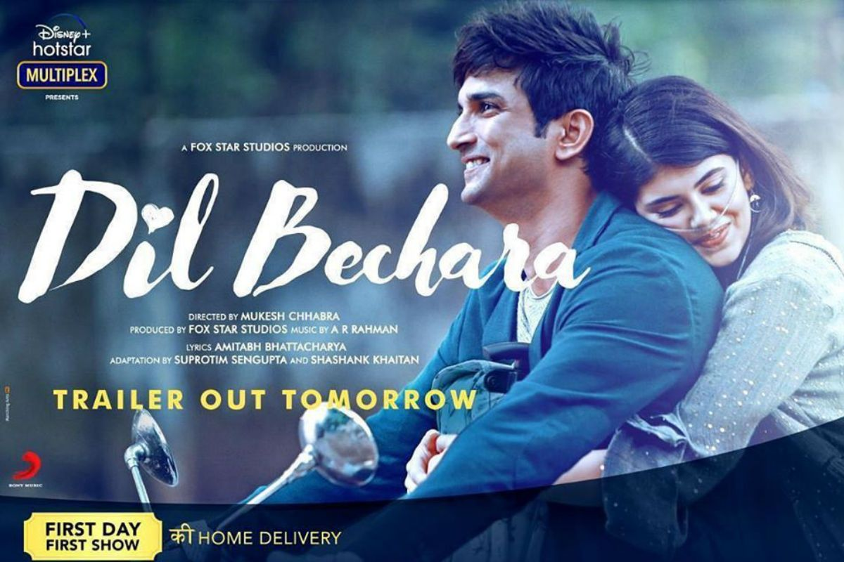 Dil Bechara Trailer Release Date Out: Gear up For Sushant Singh Rajput And Sanjana Sanghi's Emotional Romance 60