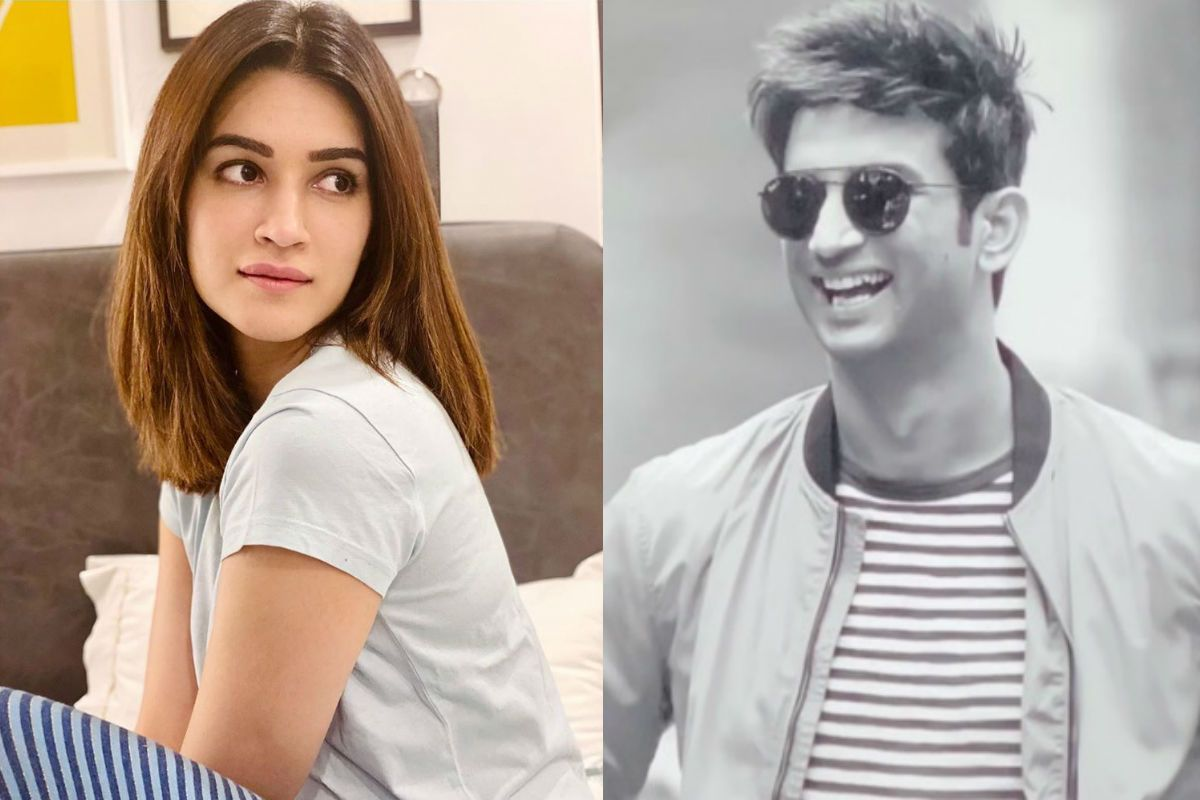 Kriti Sanon Misses Sushant Singh Rajput, Writes an Emotional Post About Dil Bechara: 'In Manny, I Saw You Come Alive'