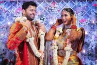 Telugu Actor Nithiin Gets Married to Shalini in Traditional South Indian Wedding Ceremony – See Photos