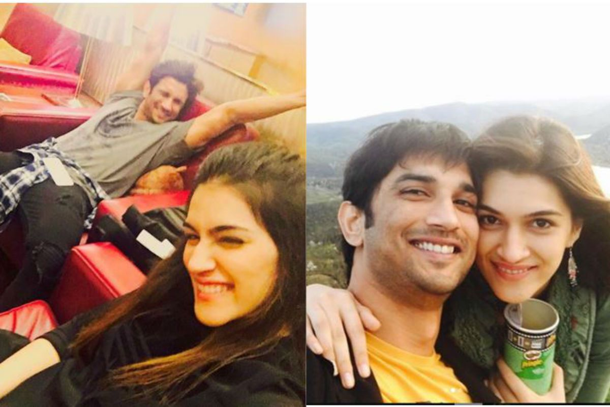 Throwback! When Kriti Sanon Spent Her Birthday With Close Friend Sushant Singh Rajput