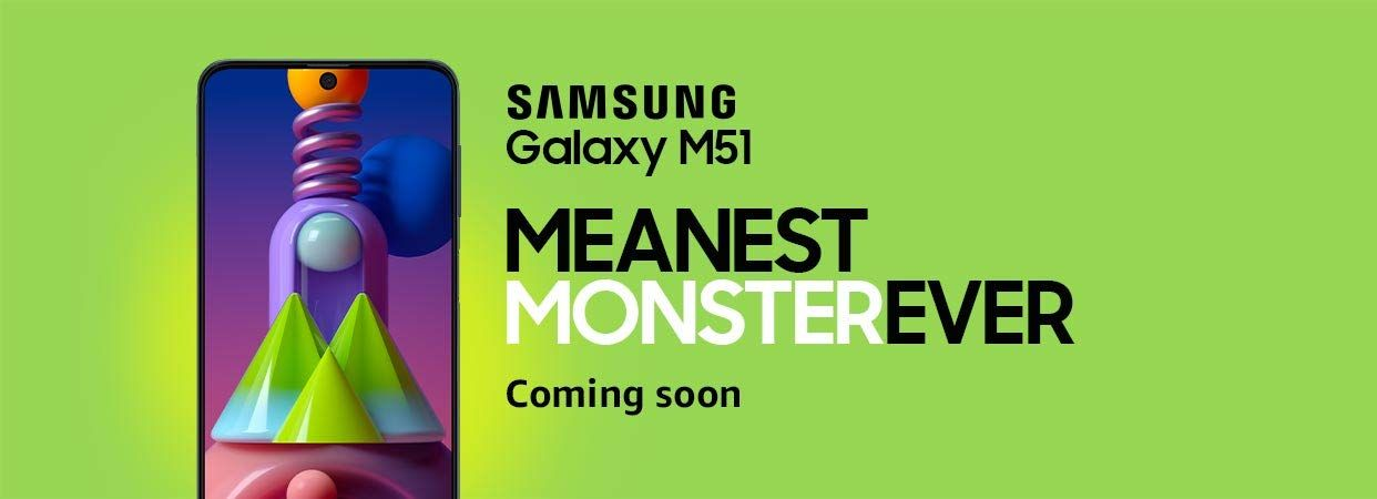 Samsung Galaxy M51 Launching Soon in India; Teased by Amazon