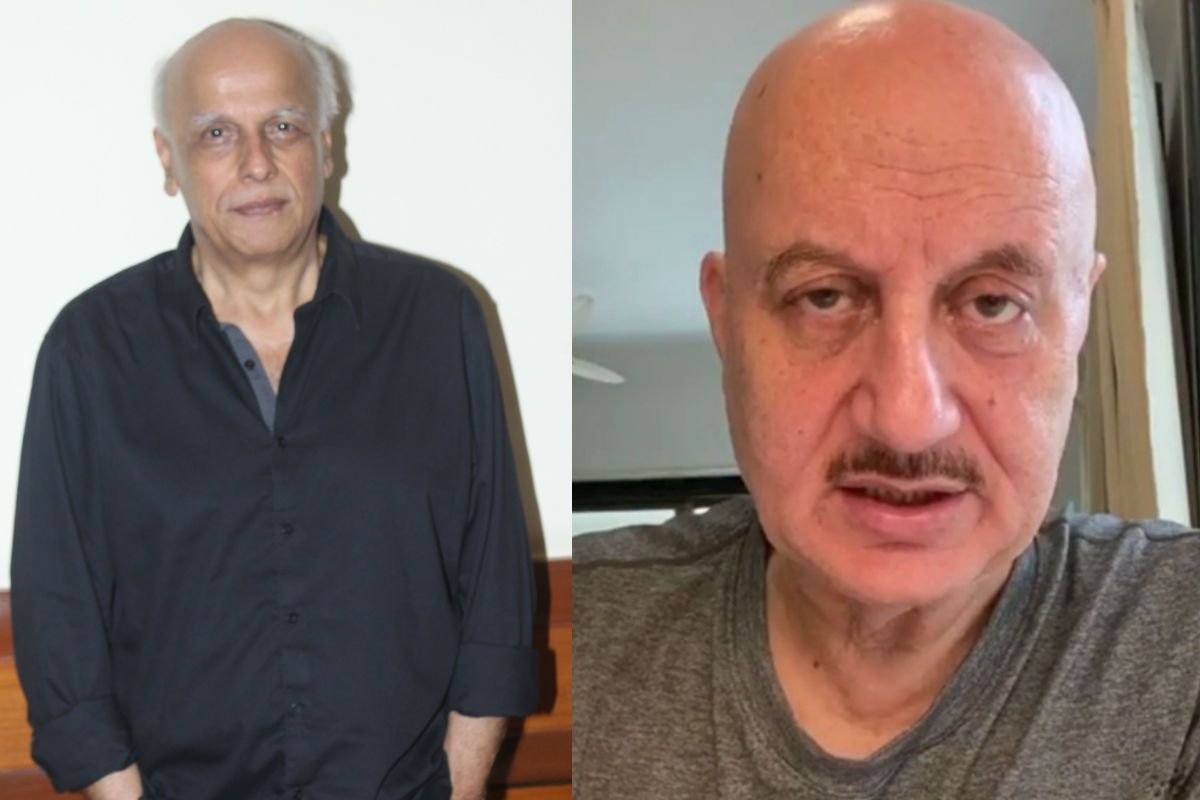 Anupam Kher's Strange Statement on Mahesh Bhatt's Name in Sushant Singh Rajput Case: I am Not Blind But I'll Not Say Anything