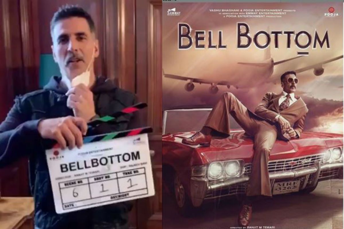 Lights, Camera, Mask On: Akshay Kumar Gives First Clap For BellBottom- Watch Video
