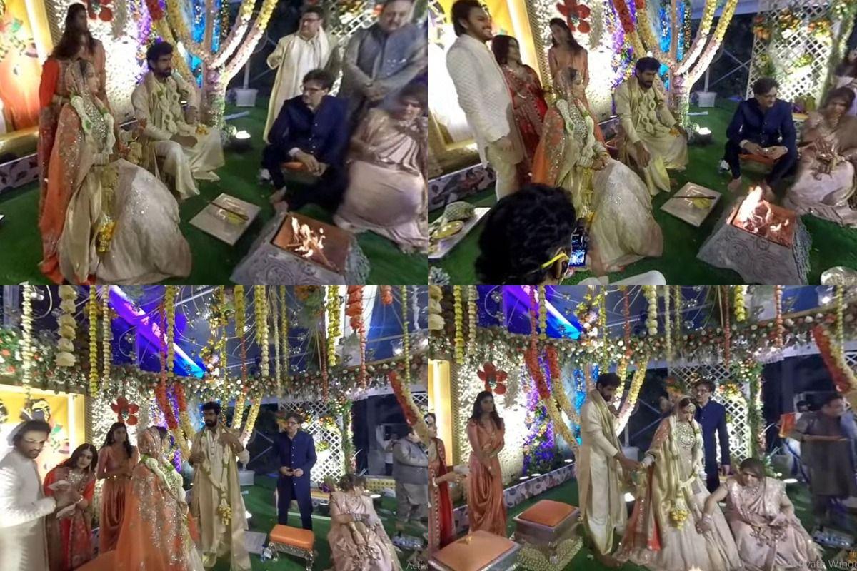Rana Daggubati-Miheeka Bajaj Wedding Highlights: Rana-Miheeka Are Married Now, Pictures From Virtual Reality Streaming Are Here