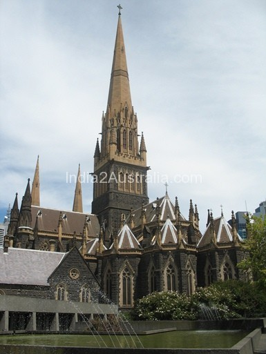 St Patrick's Cathedral in Melbourne