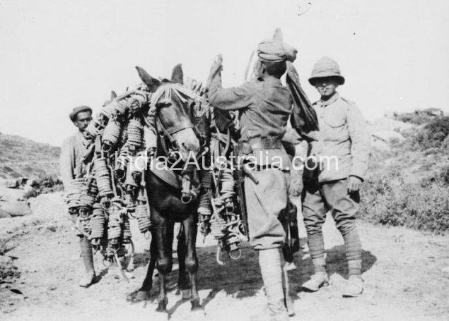 Indian Soldiers at Gallippoli
