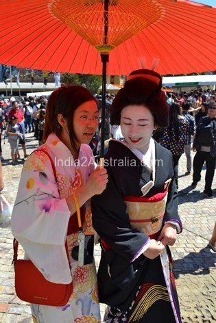 Japanese Summer Festival Melbourne Federation Square
