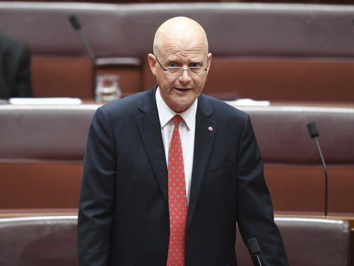 "No thanks for white man Leyonhjelm's ""Brown Men"" speech"