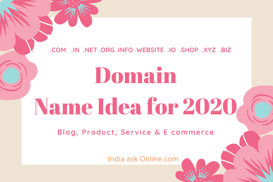 Domain name idea, domain name ideas for blogs, domain name ideas for website, domain name ideas generator