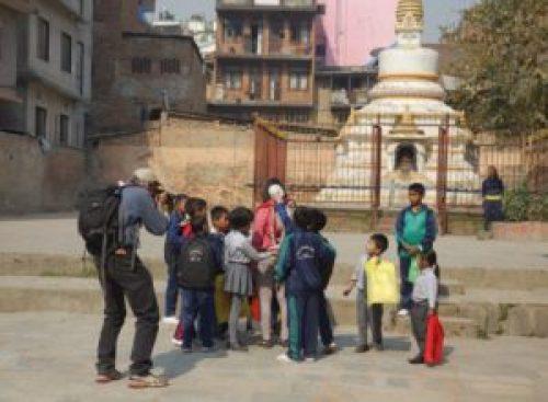 Ashmina Ranjit in Thamel, Nepal. (Image Credit: Marina Kaneti, Public Seminar).