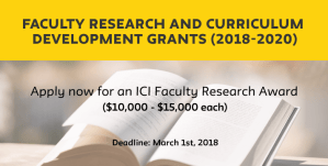 Deadline to Apply - Faculty Research & Curriculum Development Grants @ The New School