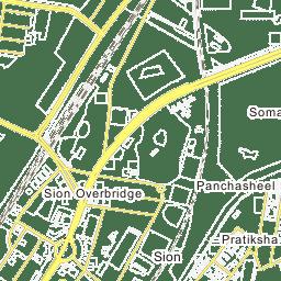 Pratiksha Nagar Sion Map