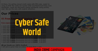 Over 80k Credit Cards Data Dump On Sale In The Darkweb Market: Advisory Issued By Cyber Cell Maharashtra