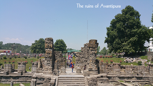 The ruins of Avantipura