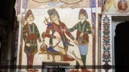 Frescoes in Nawalgarh