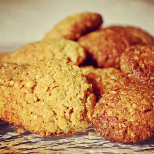 grain-free peanut-butter cookies