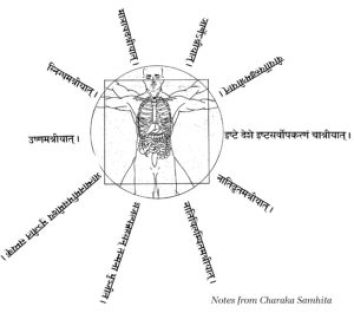 Notes from Charaka Samhita