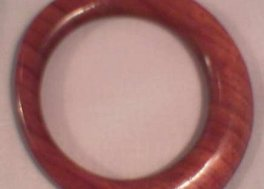 Skewed Wooden Bangle RHWB004