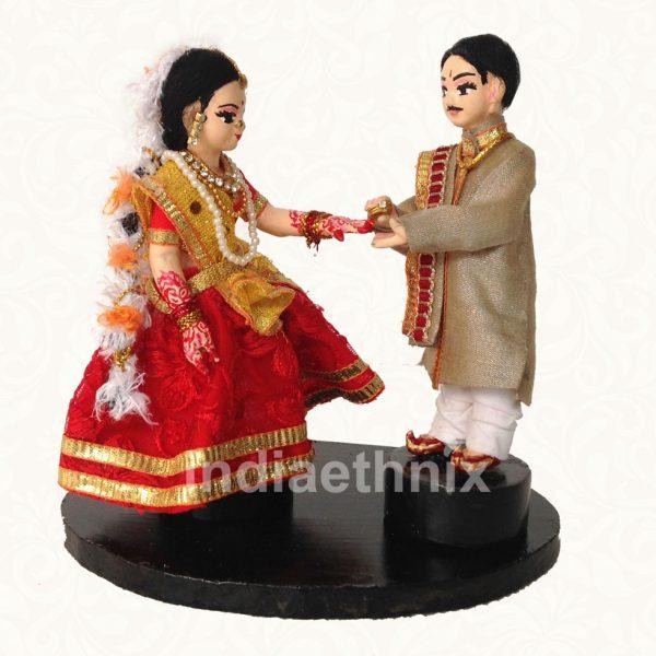Wedding Doll Engagement Indian Golu Dolls