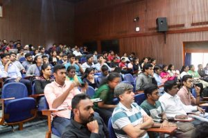 Participants at Developers tutorial at IISc Bangalore