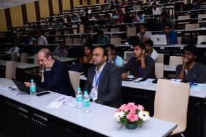 Participants at Developers tutorial in IIIT Hyderabad