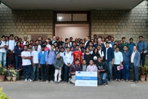 Participants of Hackathon - Group picture at IISc Bangalore-2