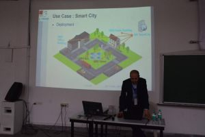 Prof Samir speaks at the Developers tutorial in IIIT Hyderabad-3