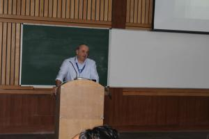 Prof Thierry at Developers tutorial in Delhi