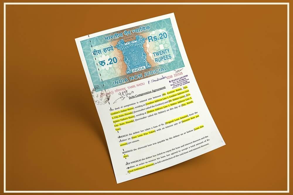 Debt Compromise Agreement