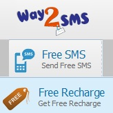 Way2SMS Free Mobile Recharge Online Send Free SMS