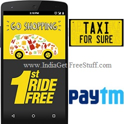 taxi for sure first ride promo code