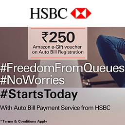 HSBC Auto Bill Pay Service Offer