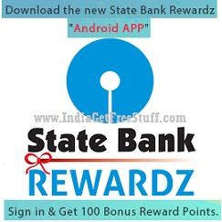 State Bank Rewardz App