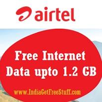 Airtel Free Internet Data