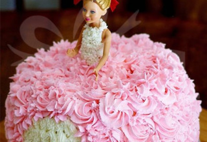 Send Swirl Barbie Cake Online In India At Indiagiftin