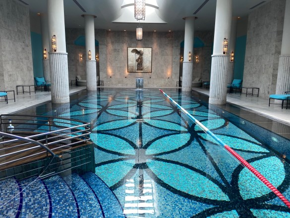 The spa at the Four Seasons by the Bosphorous