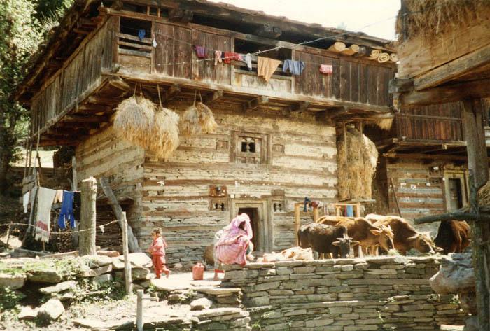 House At Rumsu Village Kullu Valley India Travel Forum