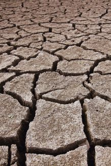 expansive soil closeup