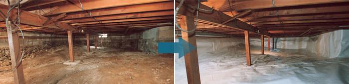silo crawlspace