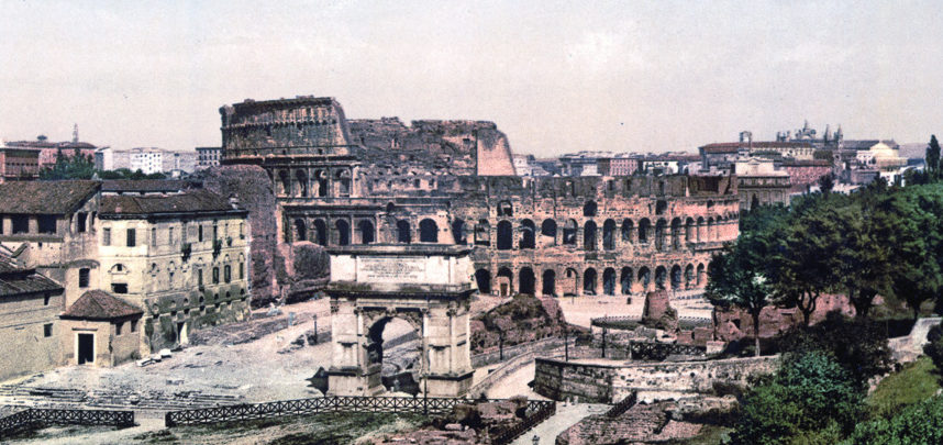 Incredible Color Photos of Rome circa 1890