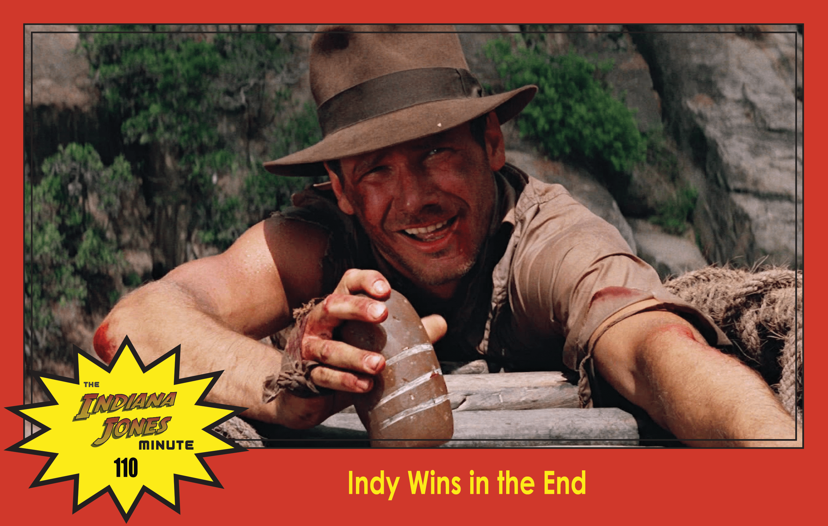 Temple of Doom Minute 110: Indy Wins in the End